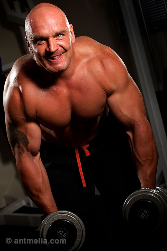 Body builders portrait photography