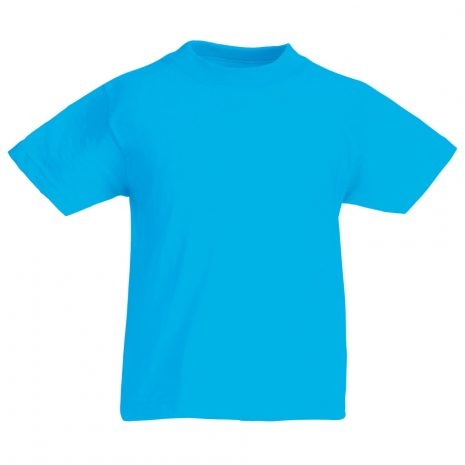 Fruit-Of-The-Loom-Childrens-Valueweight-T-Shirt-azure