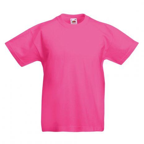 Fruit-Of-The-Loom-Childrens-Valueweight-T-Shirt-fuchsia