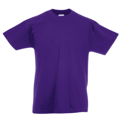 Fruit-Of-The-Loom-Childrens-Valueweight-T-Shirt-purple