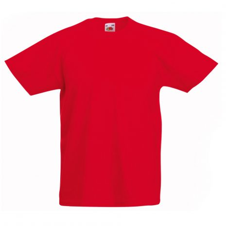 Fruit-Of-The-Loom-Childrens-Valueweight-T-Shirt-red