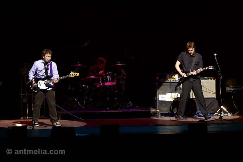 Live stage performance photography