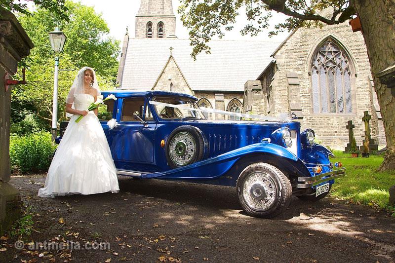 Bridal dress photo shoot
