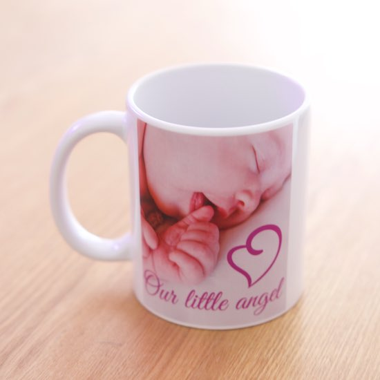 Design Your Own Printed Photo Gift Mug