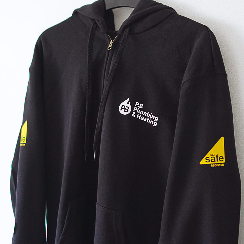 Hoodie Printing for gas engineer