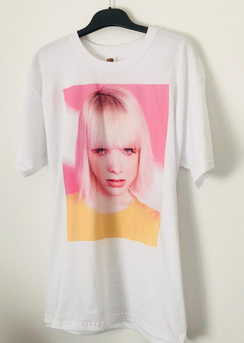 Sample colour photo print tshirt