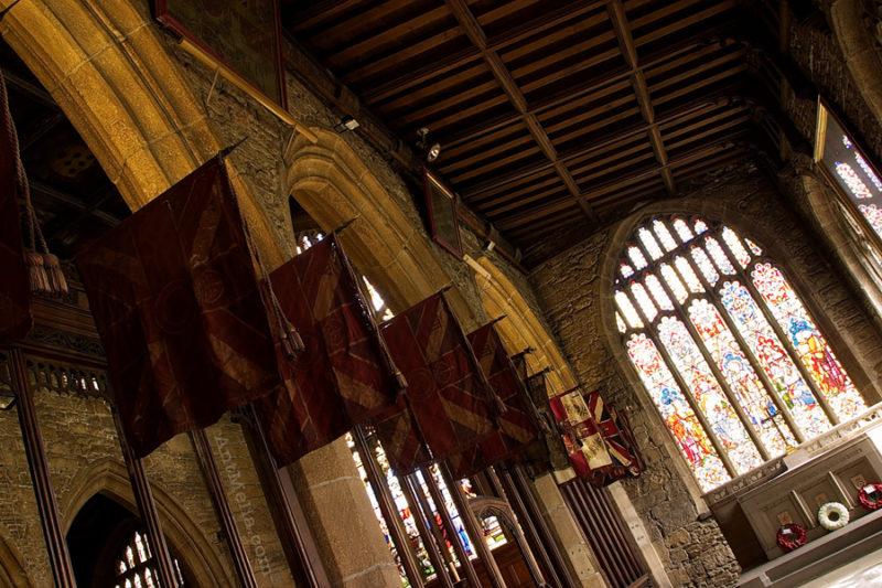 halifax church flags detail photography