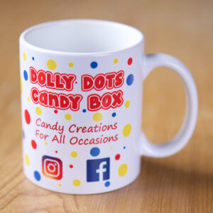 Design Your Own Printed Mug – Full Wrap